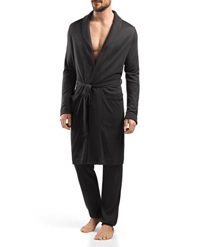 Lorenzo Soft-Knit Robe, Beluga