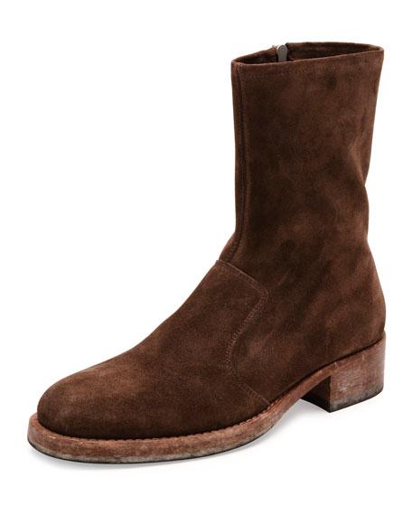 Maison Margiela Suede Cowboy Boots outlet authentic best cheap online excellent sale online outlet limited edition ojaU3