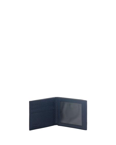 Ten-Forty One Leather Tri-Fold Wallet, Ultramarine