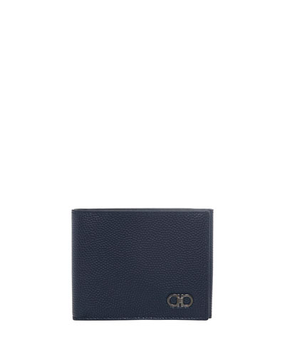 Ten-Forty One Leather Tri-Fold Wallet, Ultramarine