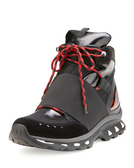 Hiking Boot Trainer Sneaker, Black