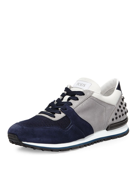 Gray sneakers Tod's g8itx