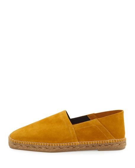 Barnes Suede Espadrille, Yellow