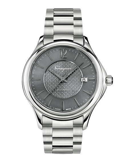 Ferragamo Time 41mm Stainless Steel Watch