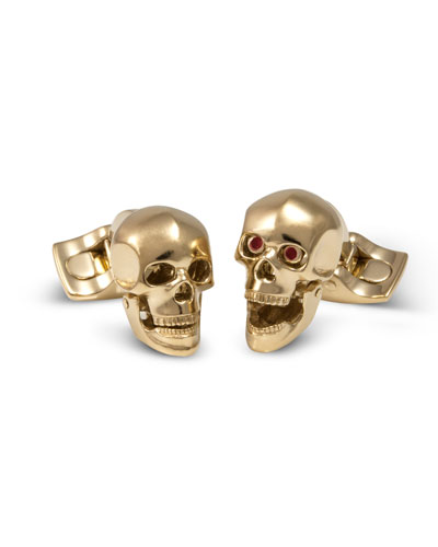 Iconic Skull Cuff Links