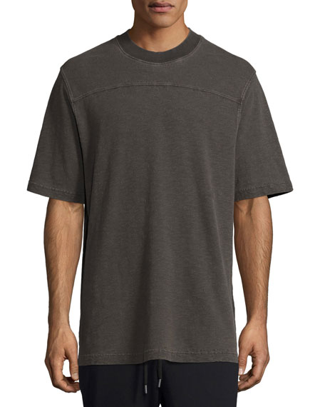 yeezy oversized crewneck t shirt, black  Neu Tom Tailor Denim Wei Tshirt Herren Online Bestellen P 454 #4