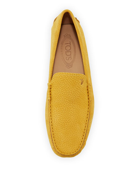 Gommini Nubuck Driver, Yellow