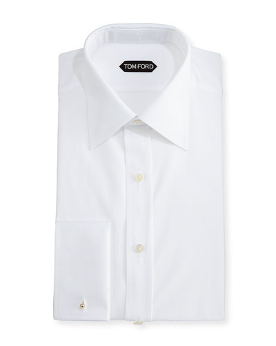Classic French Dress Shirt, White