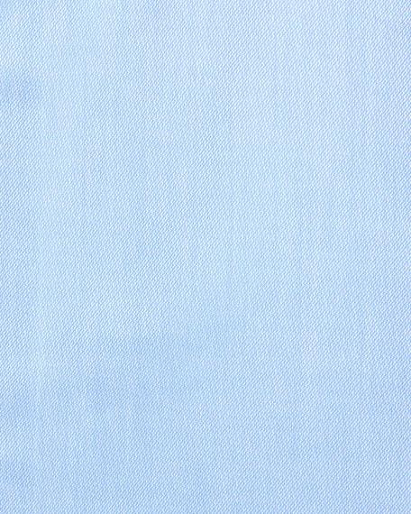 Textured Micro-Diamond Dress Shirt, Bluette