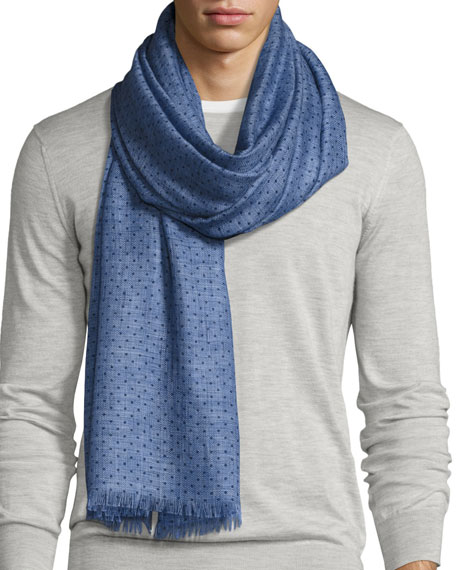Le Rosey Cashmere-Silk Scarf