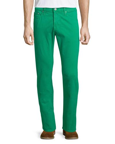 GREEN SUD 5PKT PANT