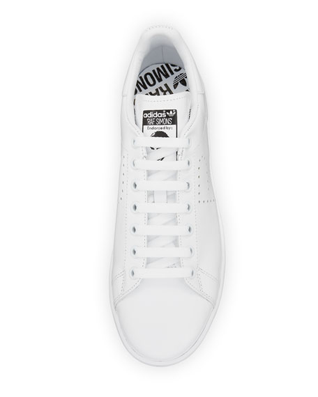 Men's Stan Smith Leather Low-Top Sneaker, White
