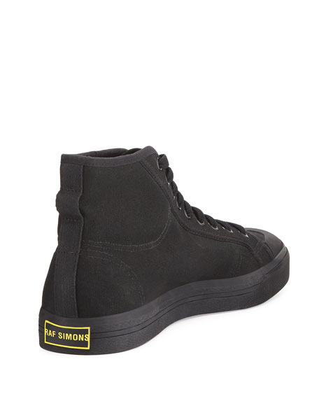 Spirit Canvas High-Top Sneaker, Black