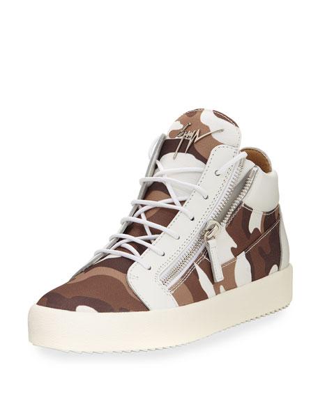 Giuseppe ZanottiMen's Camo Sneaker 9LVUlr3J8t