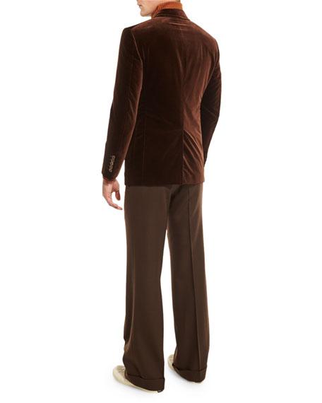 Shelton Base Velvet Sport Jacket, Brown