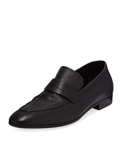 Lorenzo Calfskin Leather Loafer