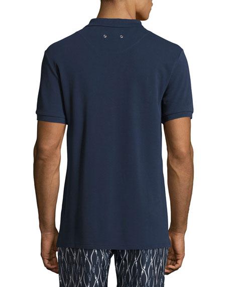 Palan Cotton Piqué Polo Shirt