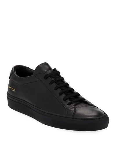 Achilles Low-Top Sneaker, Black