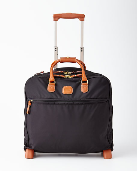Bric's Bags BLACK ROLLING PILOT CASE LUGGAGE