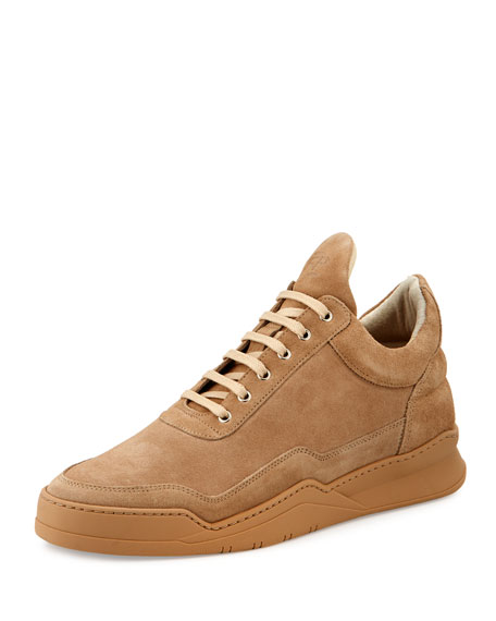 Filling Pieces Low-Top Ghost Sneakers, Sand