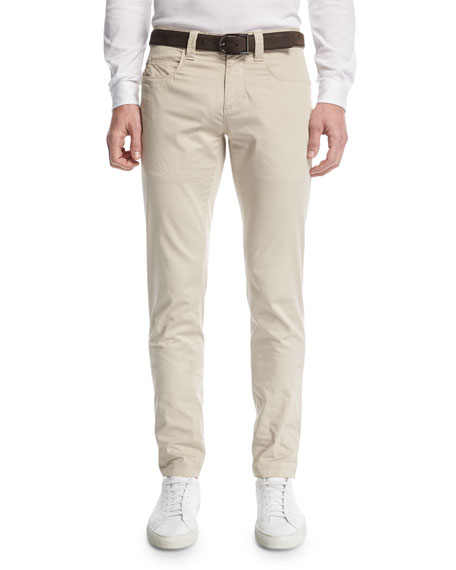 Stache B. Slim-Straight Jeans