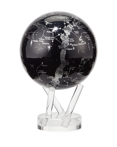Mova Globe MOVA® Space Constellations Globe, Black/Silver