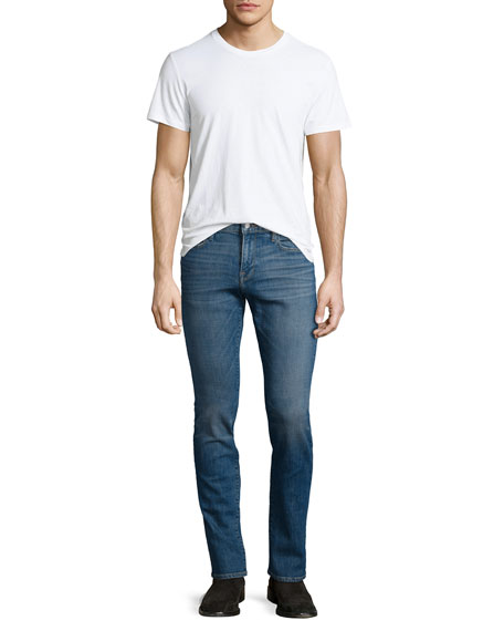 L'Homme Brooks Slim-Straight Jeans, Blue