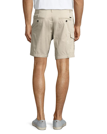 Military Cargo Shorts, Beige