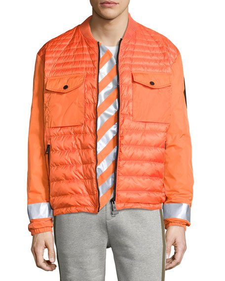 moncler Bomber Jackets Orange