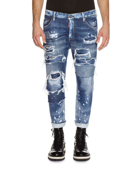 Glam Head jeans - Blue Dsquared2 0vC62X