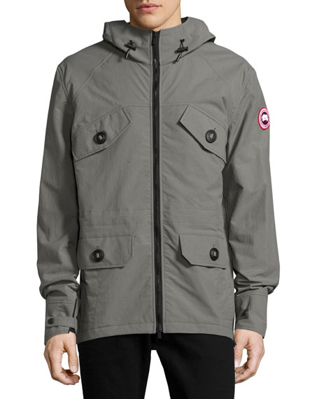 canada goose redstone hooded jacket