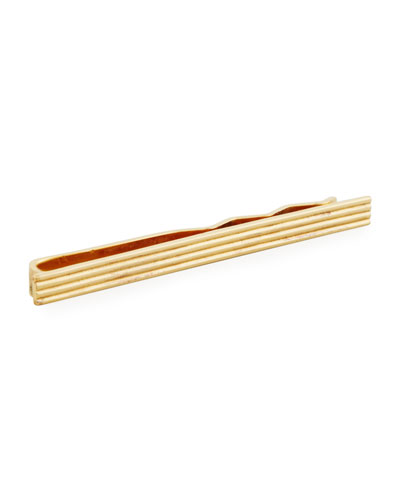 Etched Vintage Tie Bar
