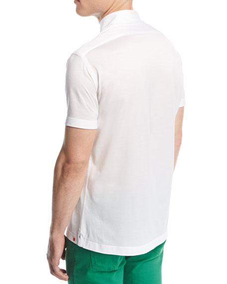 Classic Cotton Polo Shirt, White