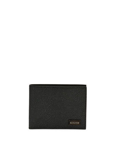 Ten Forty One Leather Bi-Fold Wallet, Gray