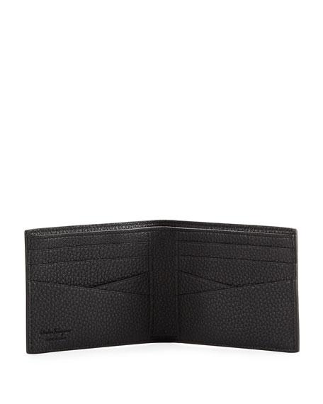 Men's Firenze Leather Bi-Fold Wallet, Black