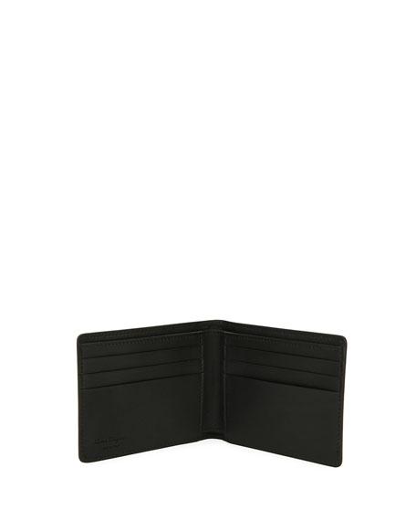 Revival Bi-Fold Leather Wallet, Blue