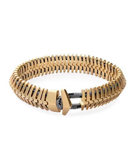 Miansai Klink Bracelet, Brass