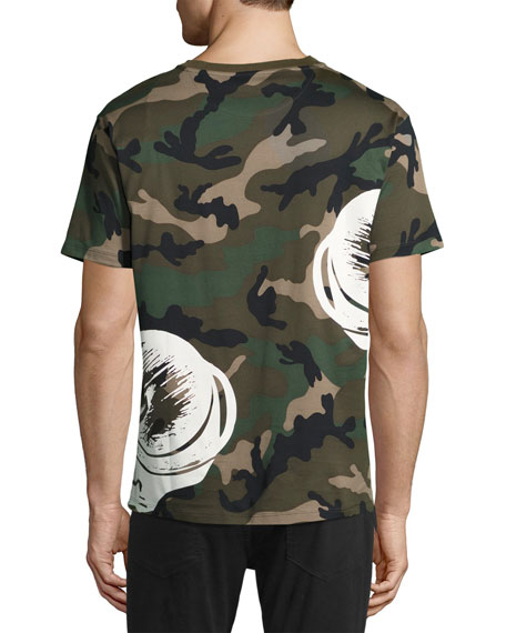 Camouflage Panther T-Shirt, Green