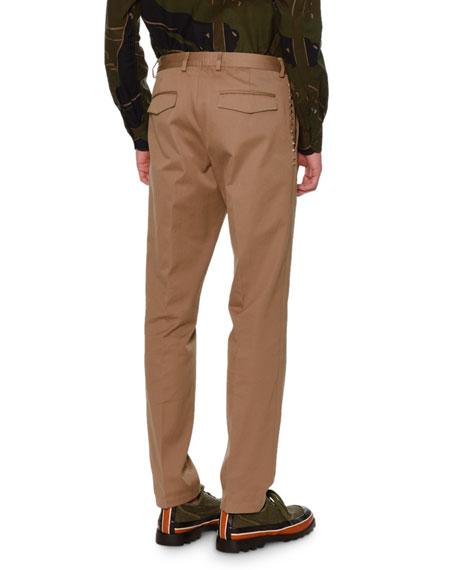 Rockstud Untitled Chino Trousers, Beige