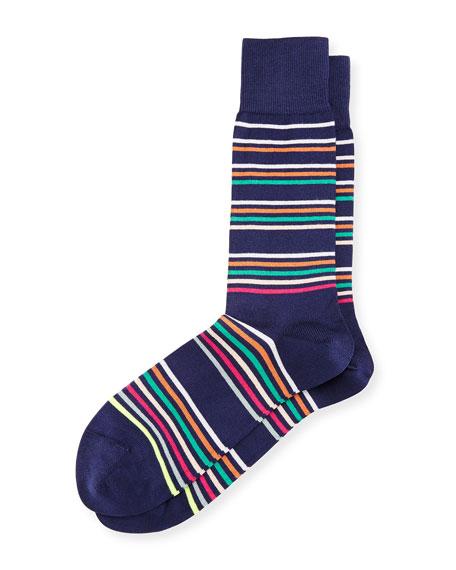 Mondo Multicolor-Stripe Socks
