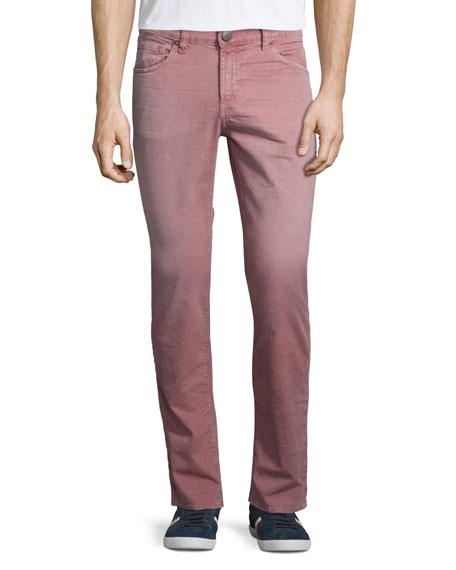 J Brand Tyler Slim-Straight Jeans, Thrashed Poolside