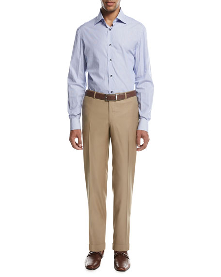 Aquaspider Wool Dress Pants, Tan