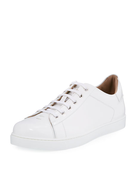 Men's Leather Low-Top Sneaker