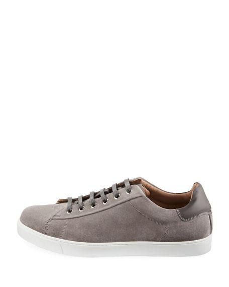 Men's Suede Low-Top Sneaker