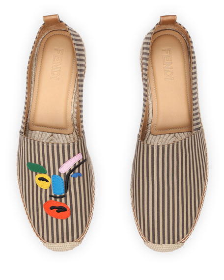 Multi Face Slip-On Espadrille