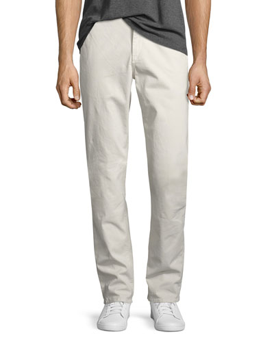 Men's Standard Issue Fit 2 Mid-Rise Relaxed Slim-Fit Chinos  Stone