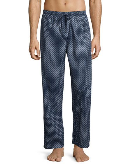 Derek Rose Nelson 58 Cotton Lounge Pants, French