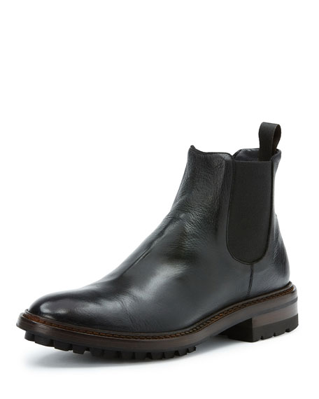 Frye Men's Greyson Leather Chelsea Boot