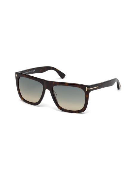 b14751899d956 TOM FORD Morgan Thick Square Acetate Sunglasses