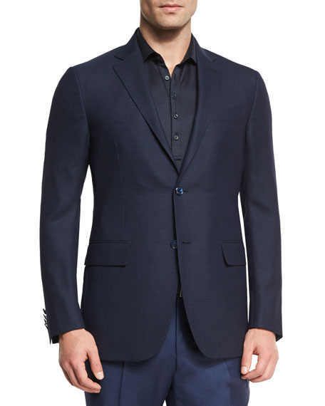 Ermenegildo Zegna Milano Easy Fit Cool Effect Check
